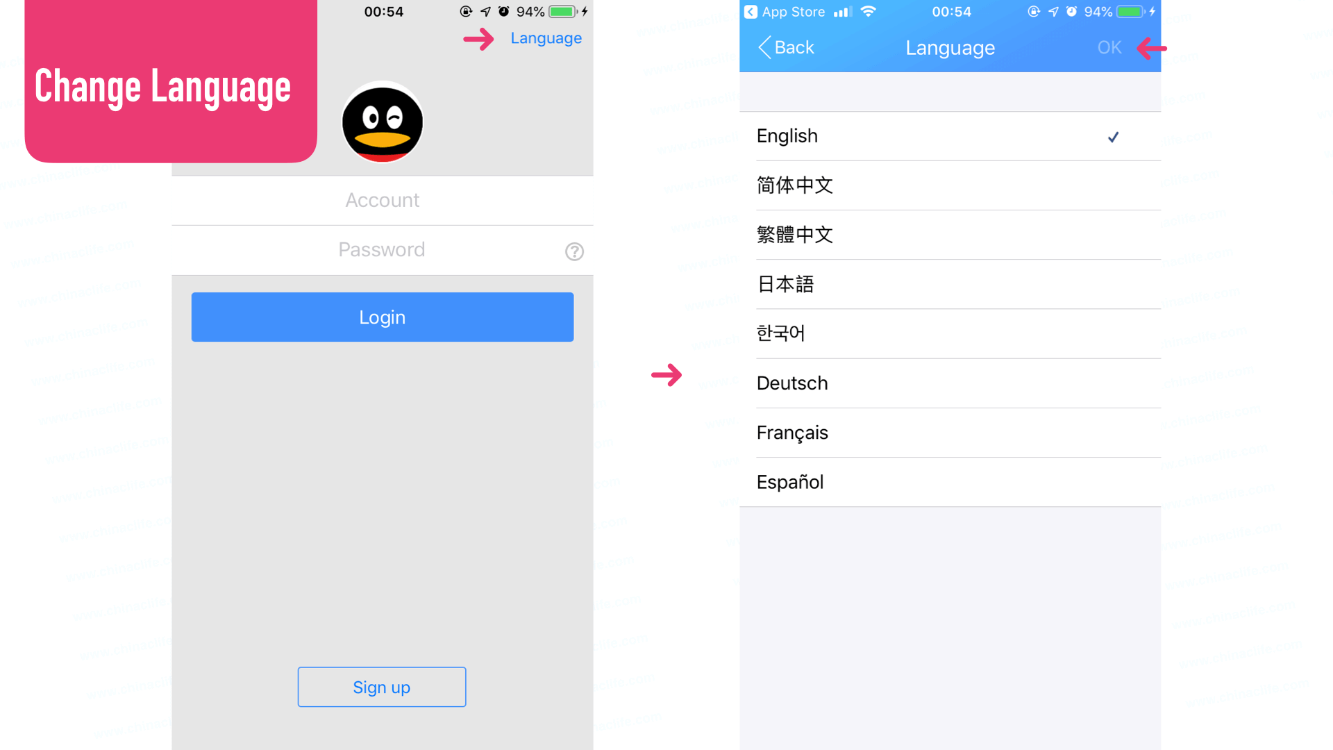 qq sign up without mobile