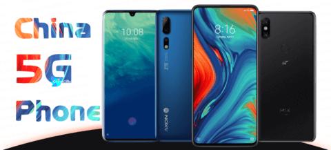 China 5G phones 2019, China 5G phones, early China 5G phones list, China 5G phone list