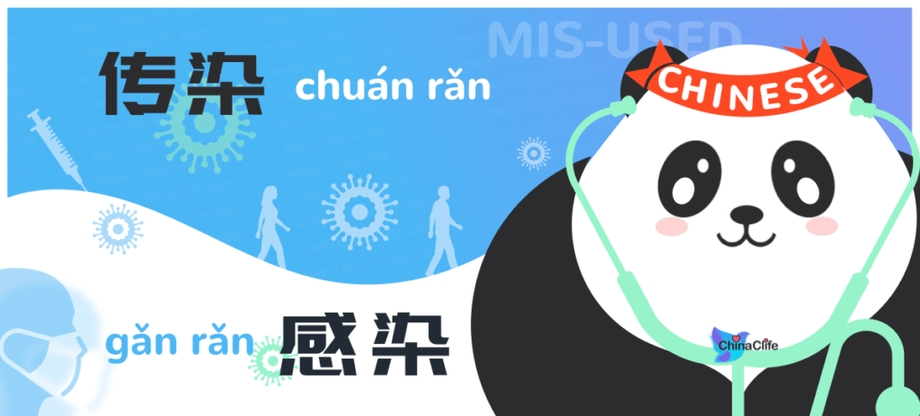 Distinguish Chinese Verbs Chuanran and Ganran