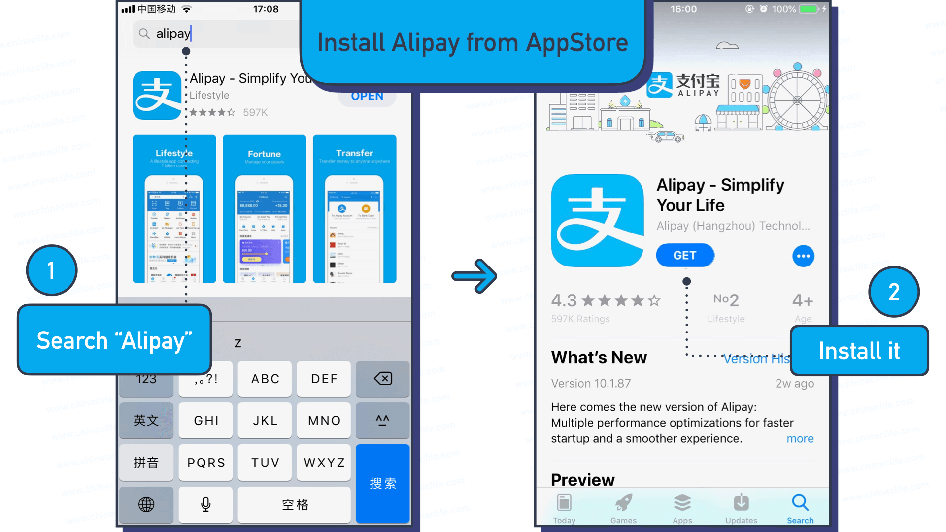 How to register Alipay International account on overseas smartphones without Chinese bank account