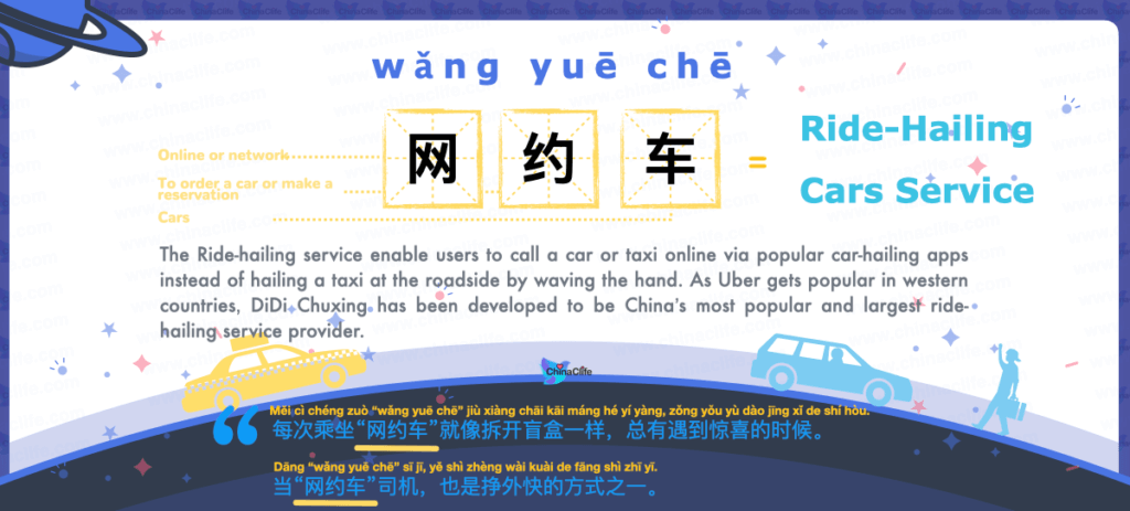 Learn How to Say Ride-Hailing Service in Chinese