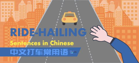 ride hailing sentences in Chinese