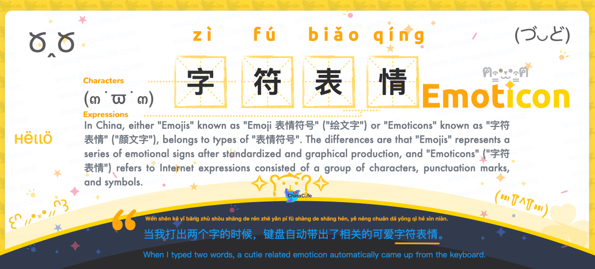 How to Pronounce Emoticons in Chinese Pinyin, Understand Memes Emojis Stickers and Emoticons with Chinese meanings, Differentiate Memes Emojis Stickers and Emoticons in Chinese