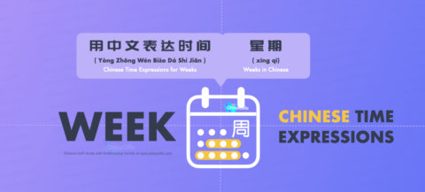 Speak Days of the Week in Mandarin Chinese with Pinyin, words, phrases, week-time questions and answer sentences