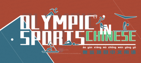List of Summer Olympic Sports in Chinese
